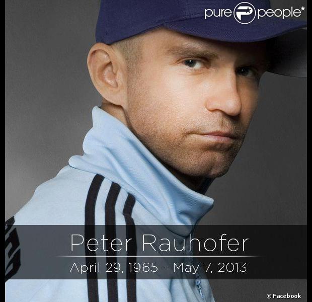Peter Rauhofer est mort à New York, le 7 mai 2013.