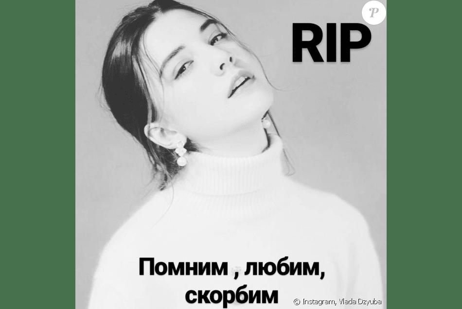 Vlada Dzyuba sur Intsgram vivait son rêve de devenir mannequin grâce à un contrat décrocher en Chine. Fin octobre, avant un défilé, elle s'effondre.