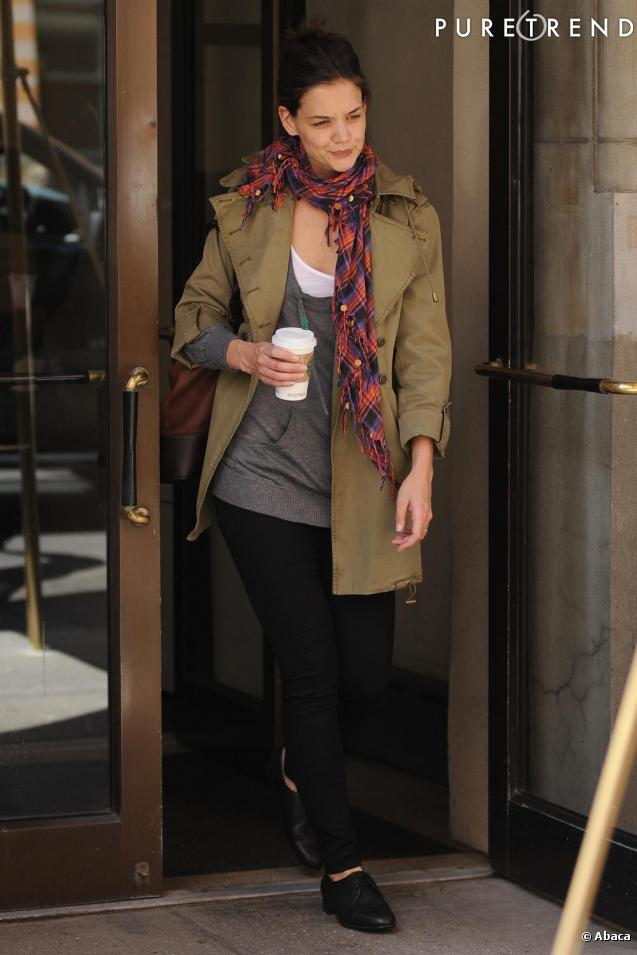 Katie Holmes à New York