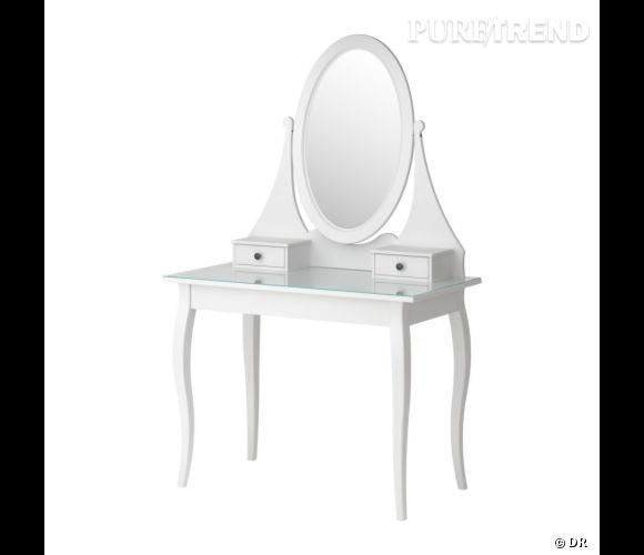Coiffeuse Ikea Une Coiffeuse De Princesse Pour Se Pomponner A Toute Heure Prix 199 Puretrend