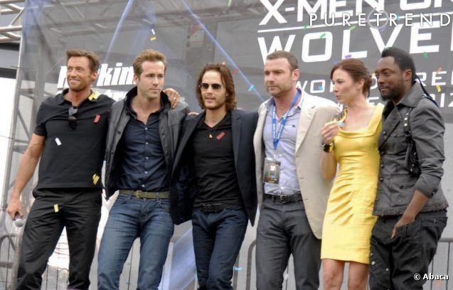 Promotion Wolverine origins équipe tournage