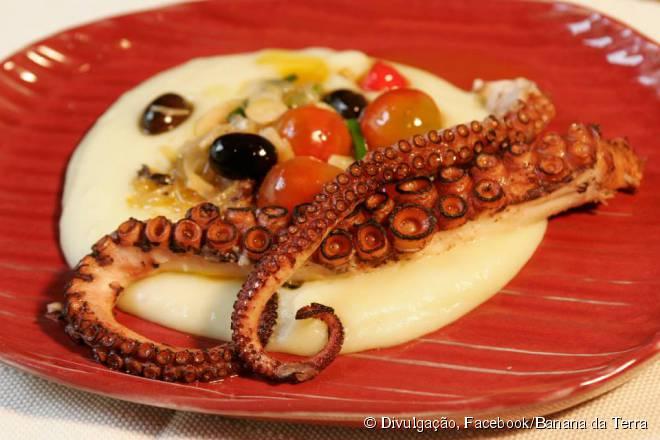 Banana da Terra utiliza a fruta que dá nome ao restaurante em inúmeros pratos do cardápio
