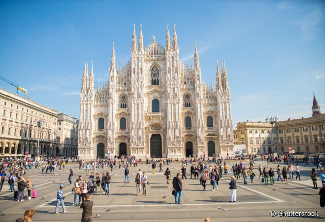 O clima cosmopolita de Milão, na Itália, também influencia seus restaurantes, com cardápios que mesclam a gastronomia local com toques contemporâneos
