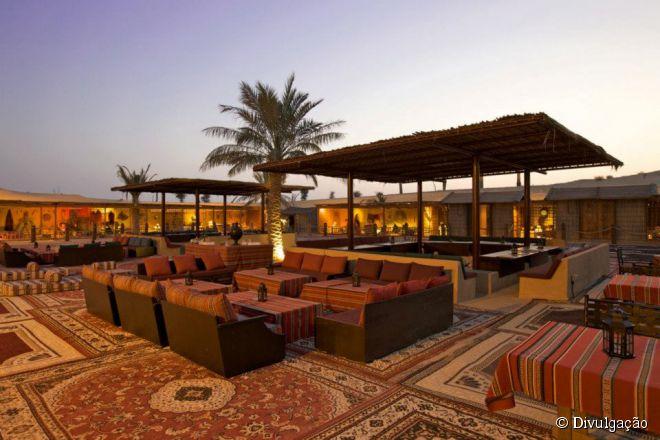 O Al Hadheerah reúne tradicionais itens da culinária árabe