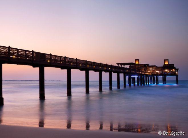 O Pierchic parece mais uma casa de praia do que um restaurante de frutos do mar bem classificado