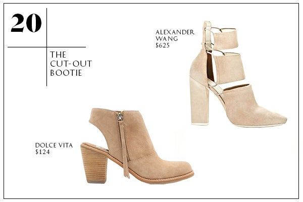 20-The Cut-Out Bootie