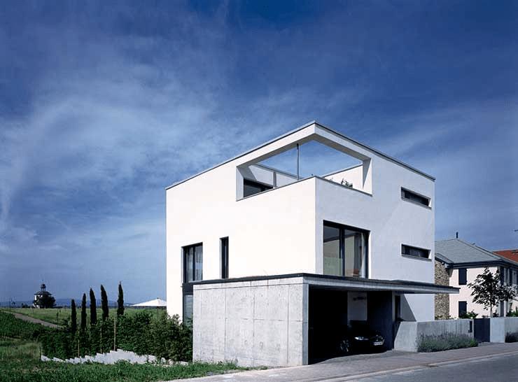 Nobles Flachdach Familienheim Sch 214 Ner Wohnen
