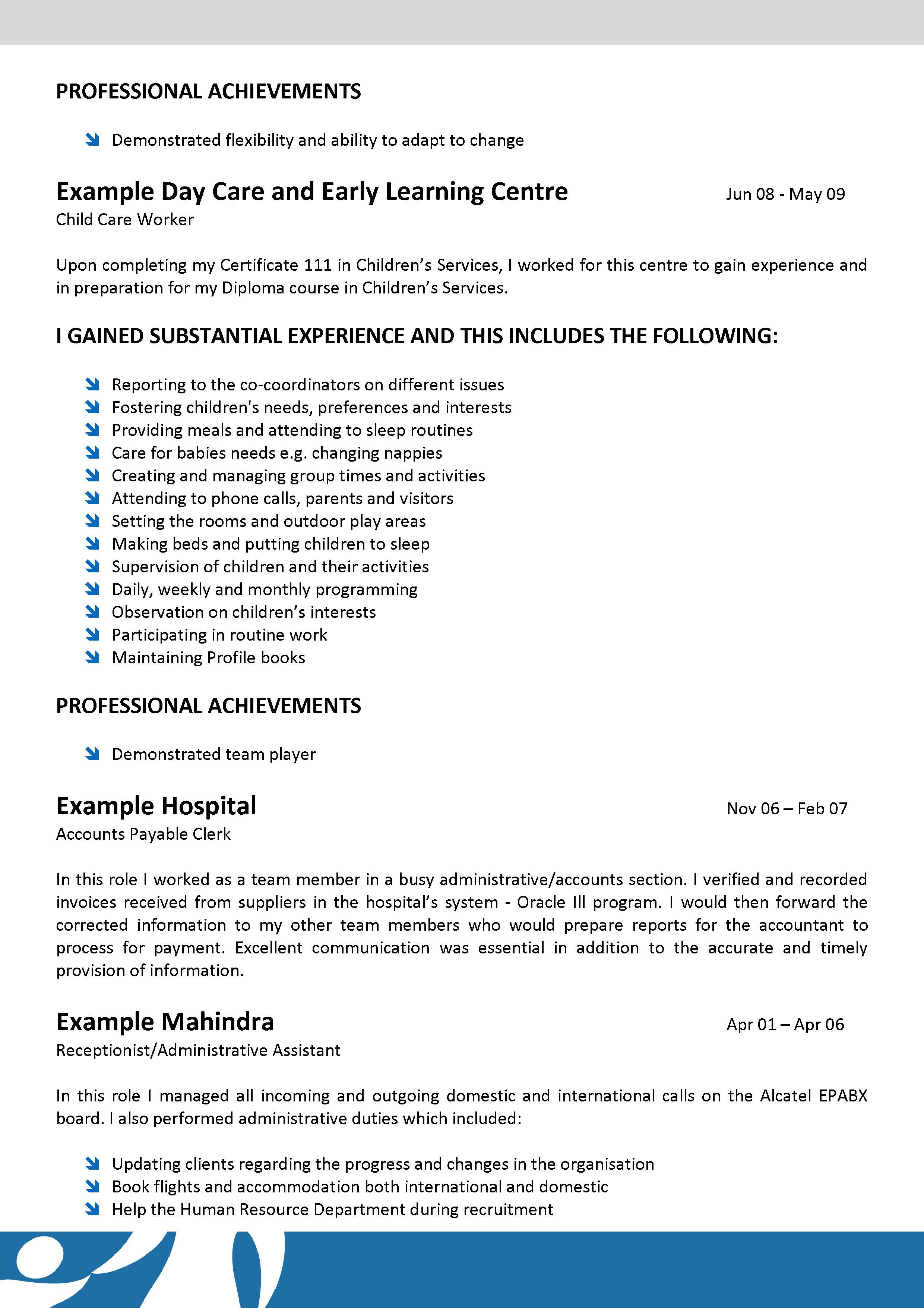 leading professional babysitter cover letter examples and – Inter Office Communication Letter