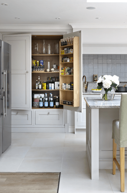 These Are The Best Examples Of Kitchens Featuring A Pantry In The  Cabinetry. | Designer