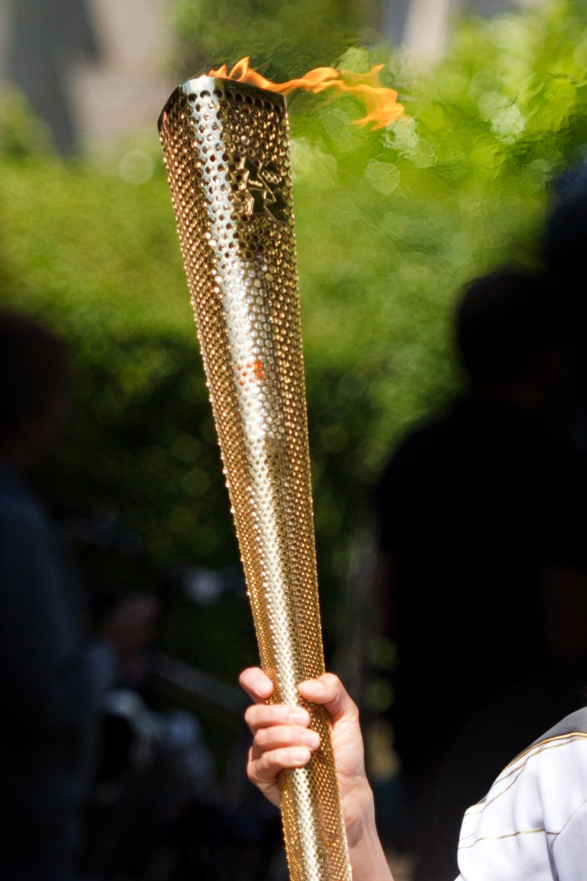 London 2012 Olympic Torch by Petr Kratochvil