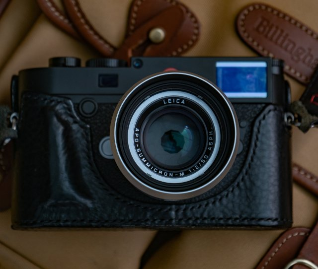 She Has Already Taken A Few Test Shots But Essentially She Sees The Lhsa Apo Summicron As A Collectors Item