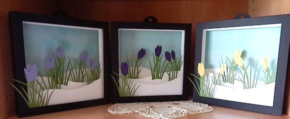 Nature Themed Shadow Boxes