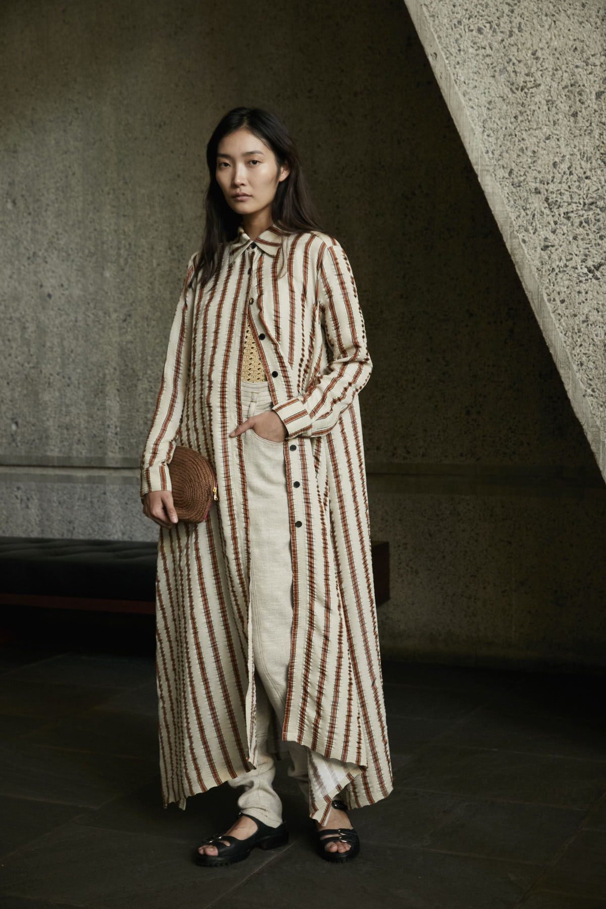 MODEST FASHION AS A VIRTUE     THE FASHION FUTURIST Rachel Comey Spring 2018  image via The Business Of Fashion