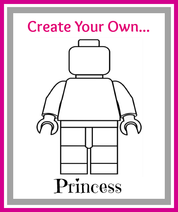 create your own lego minifigures printables for boys amp girls