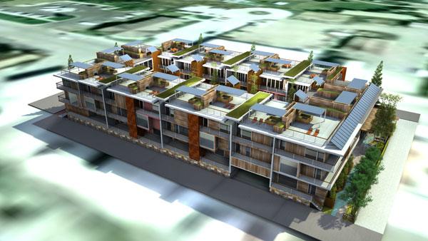 North Cache David Hertz Architects FAIA Amp The Studio Of