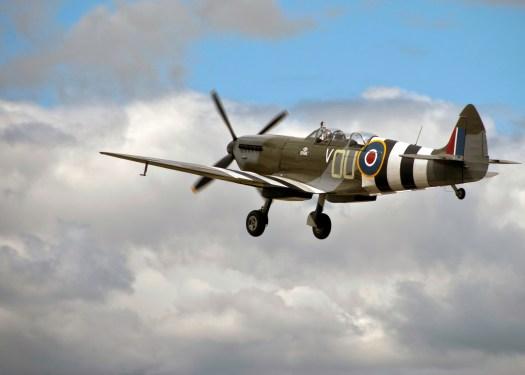 Spitfire Plane in Flight