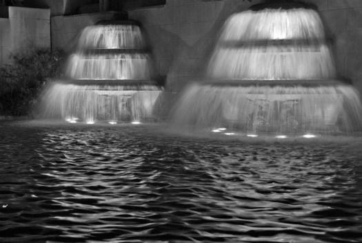 Fountain at Museu Nacional d'Art de Catalunya