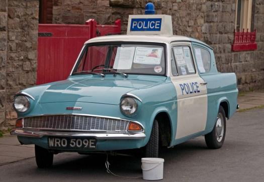 Ford Anglia Police Car