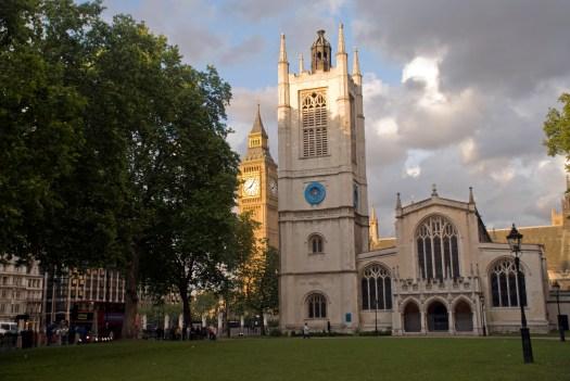 St Margarets and Big Ben London