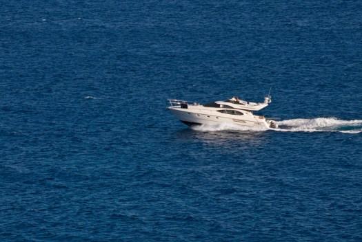 Moor Yacht on the Mediterranean
