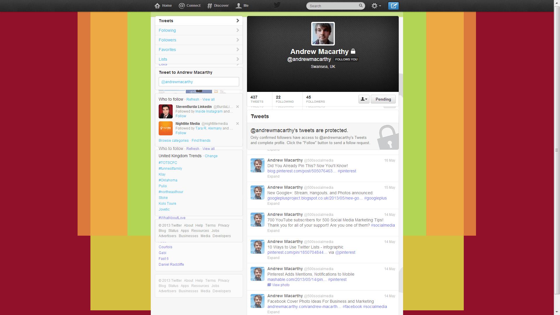 Twitter Template Psd  free twitter psd template  twitter