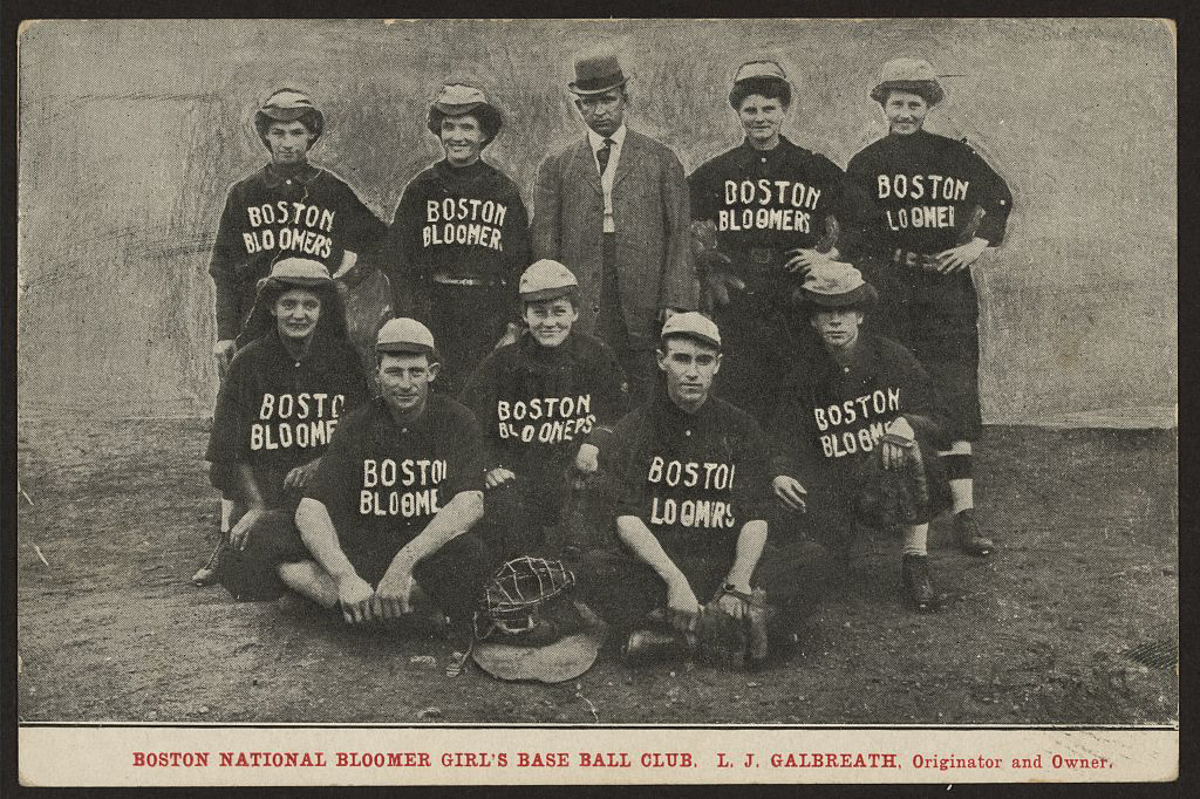 Boston Bloomers | Library of Congress