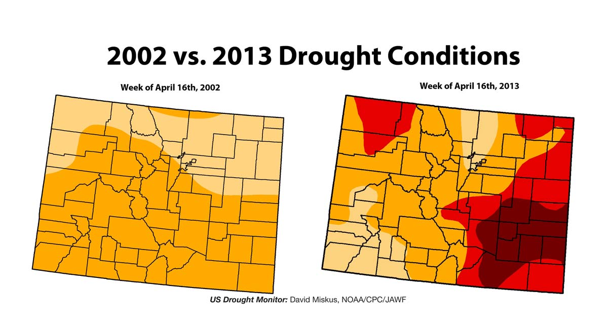 Information for US Drought Monitor - David Miskus