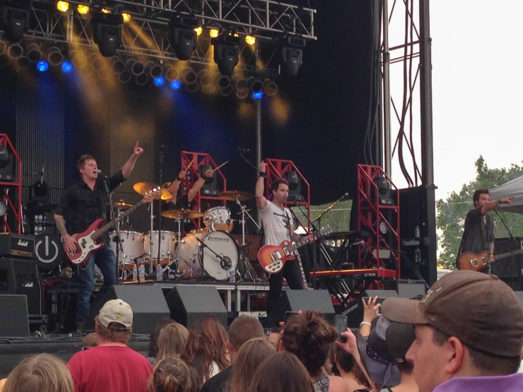 Parmaless at Bands in the Backyard