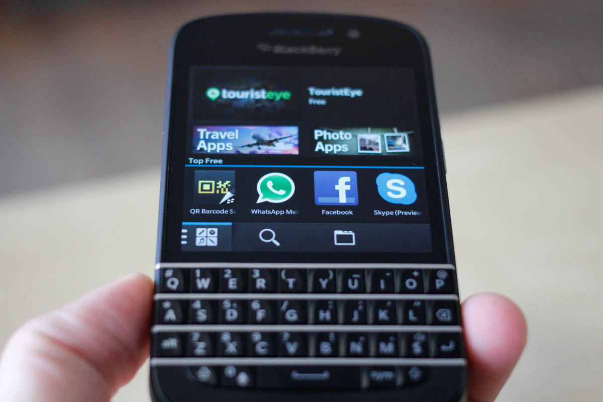 The BlackBerry Q10 | Jason Cipriani for the PULP