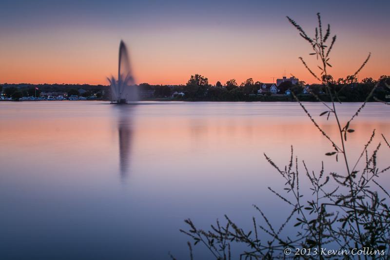 Sunset Over Little Lake
