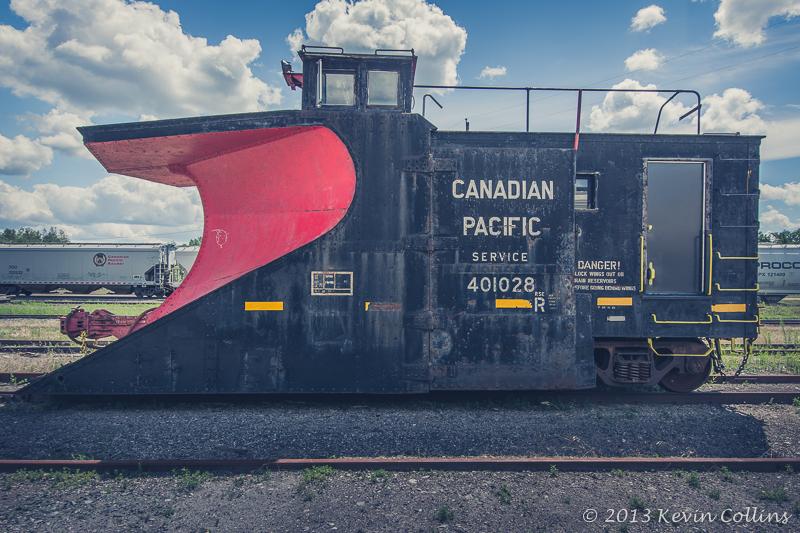 Canadian Pacific Railway Snow Plow
