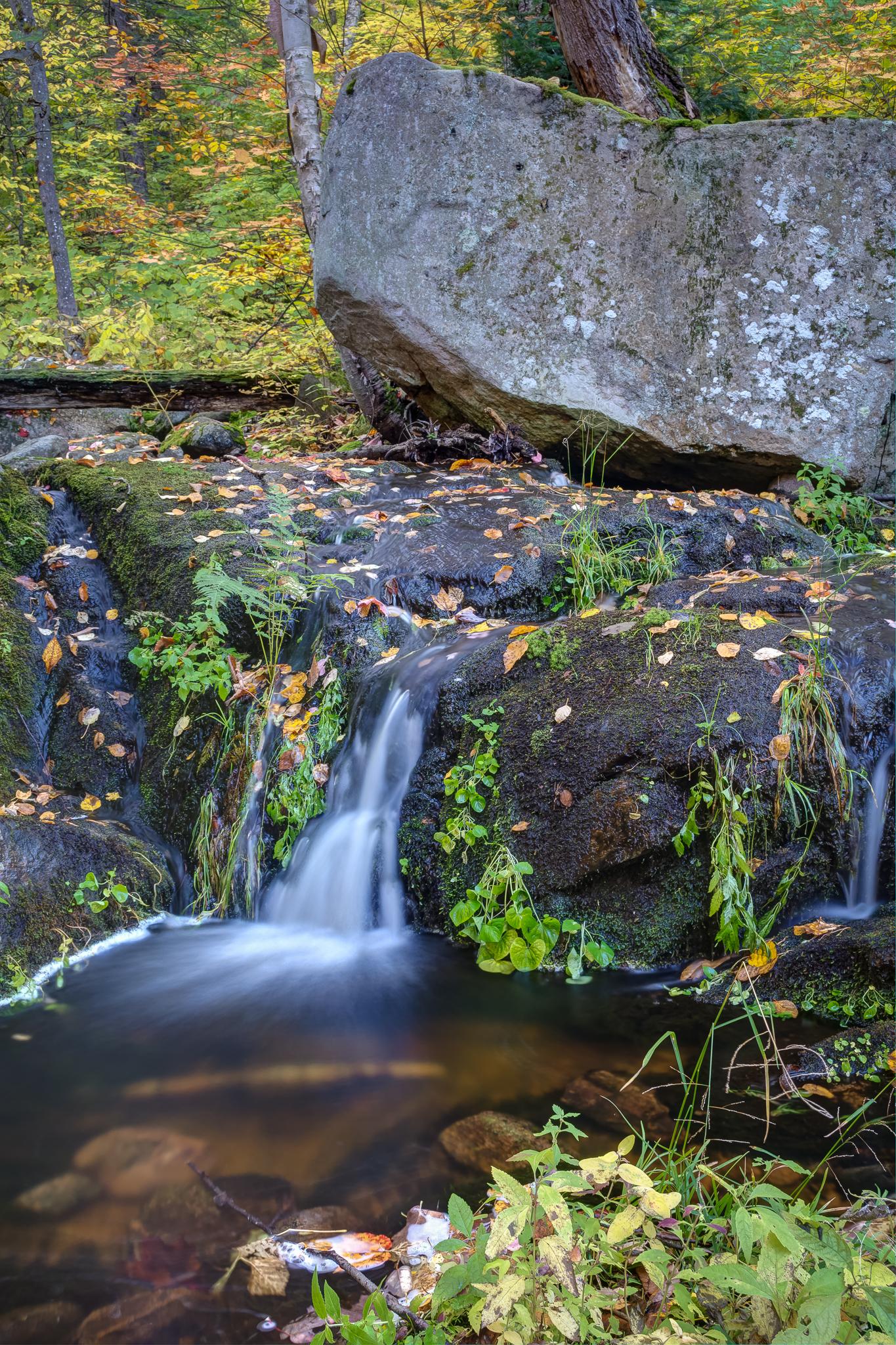 Waterfall on Centennial Ridges Trail (6s, f/13, ISO100)