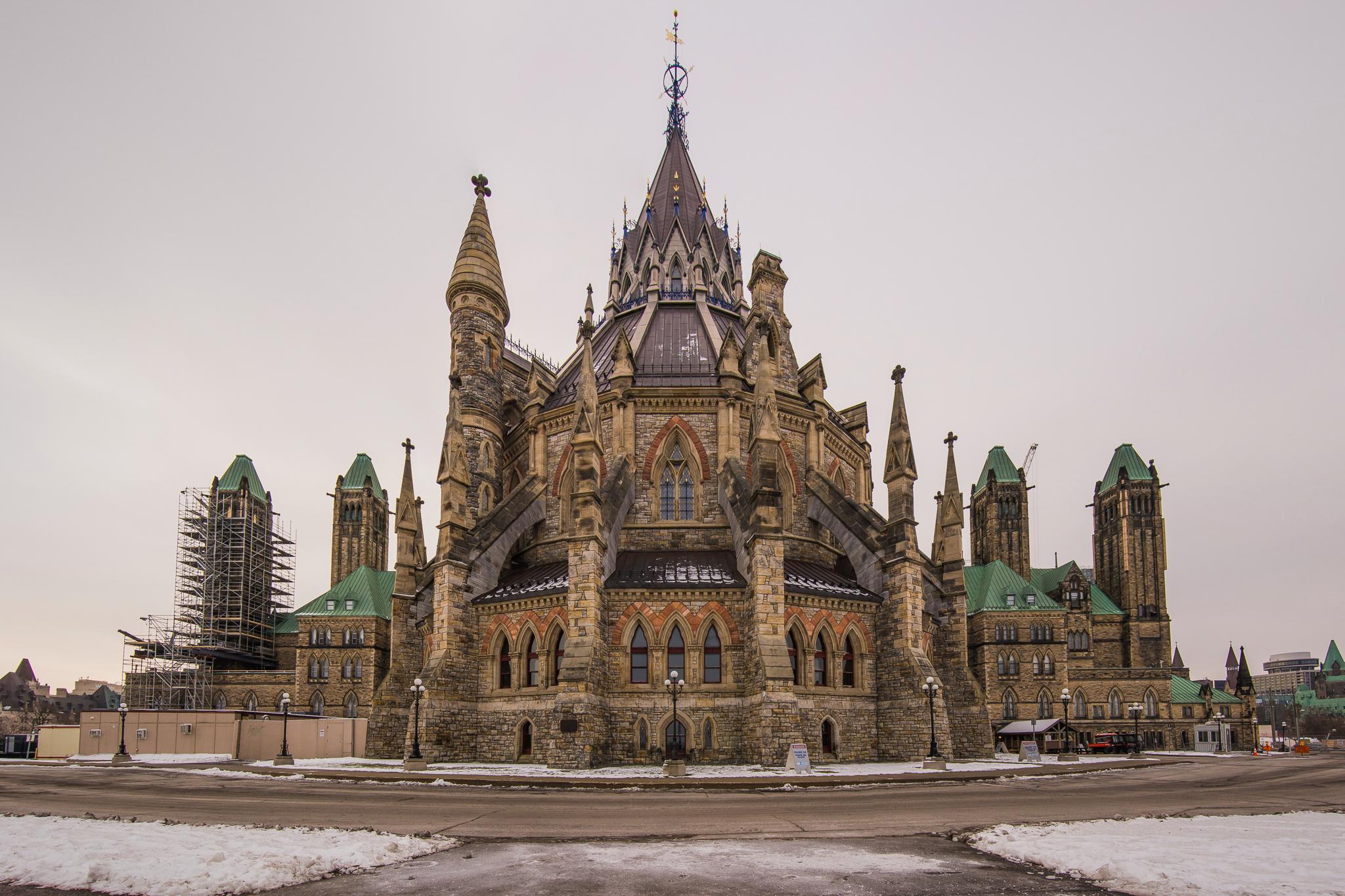 Library of Parliament (4 Shot Panorama) (1/400s, f/8, ISO400)