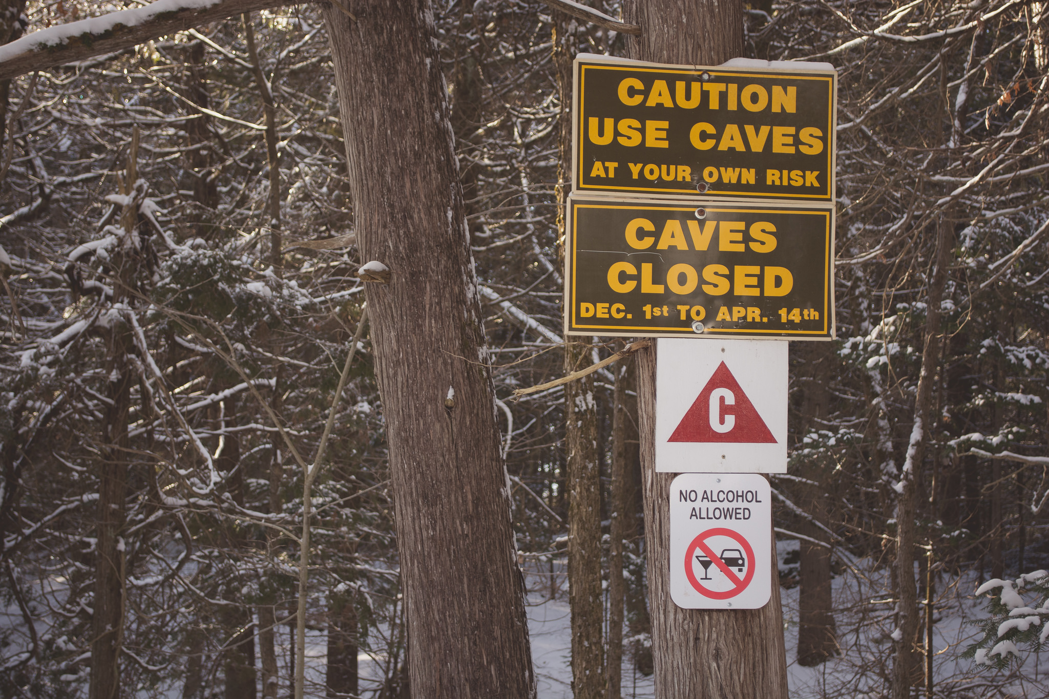 Caves Closed (1/200s, f/5.3, ISO400)