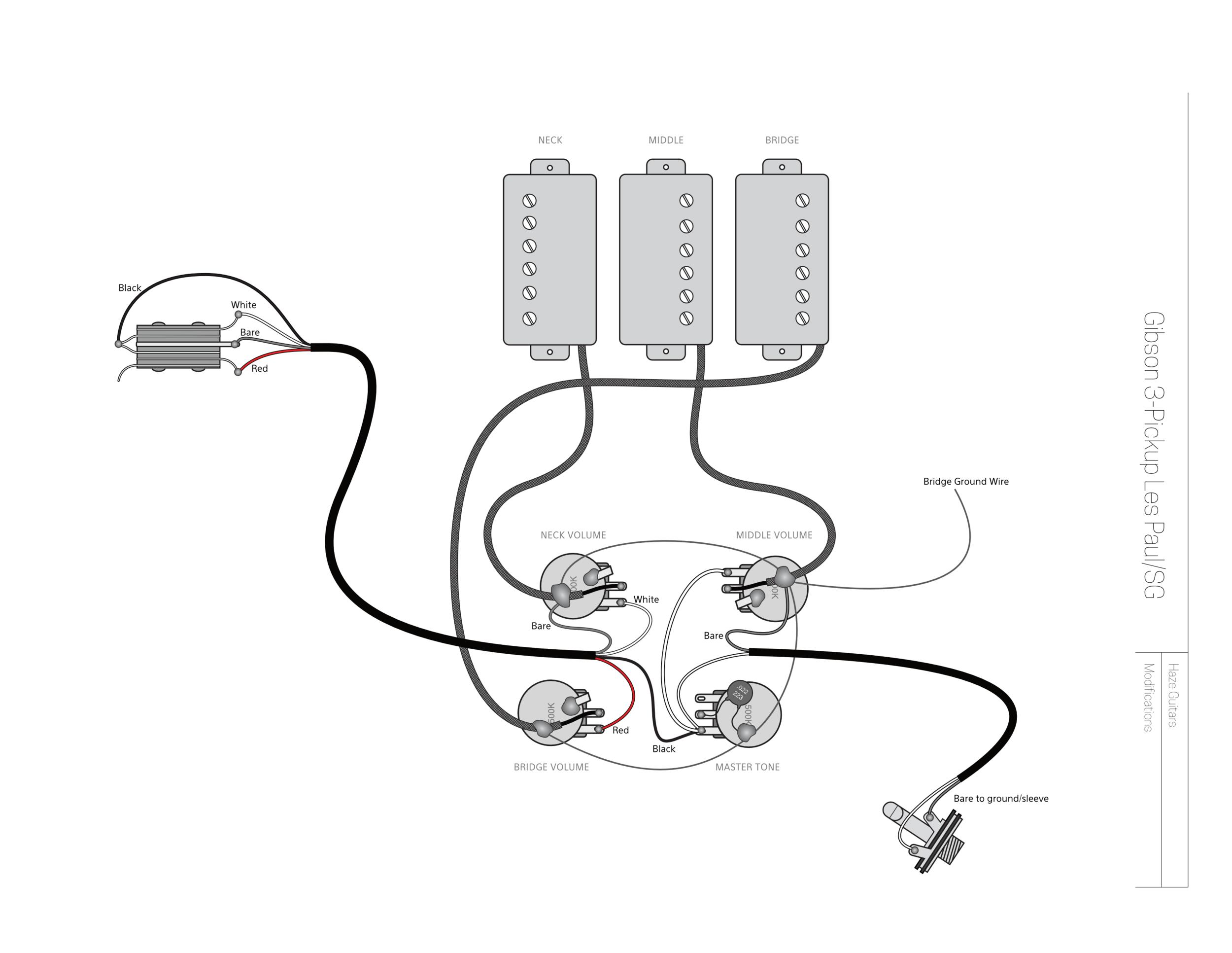 A More Flexible 3-Pickup Gibson