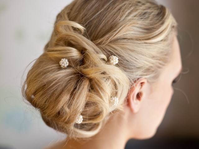 bridesmaids love the 'messy side bun' gallery of wedding hair