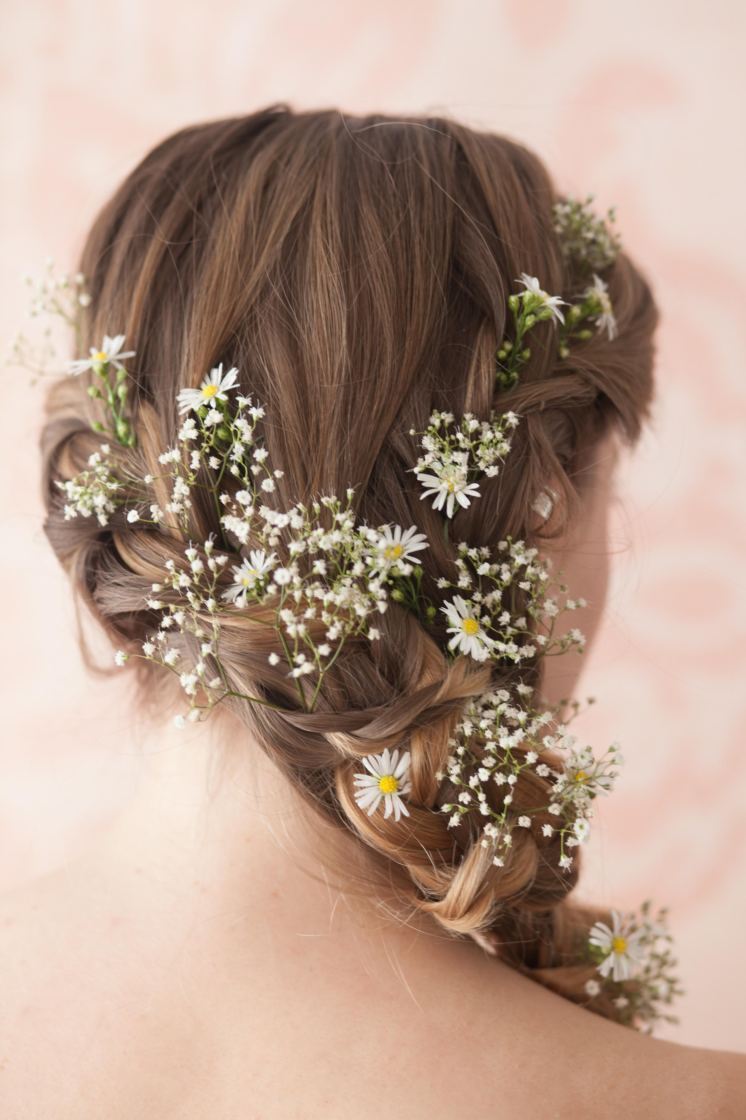 Wedding Hair With Flowers Ideas Festival Inspired Hair