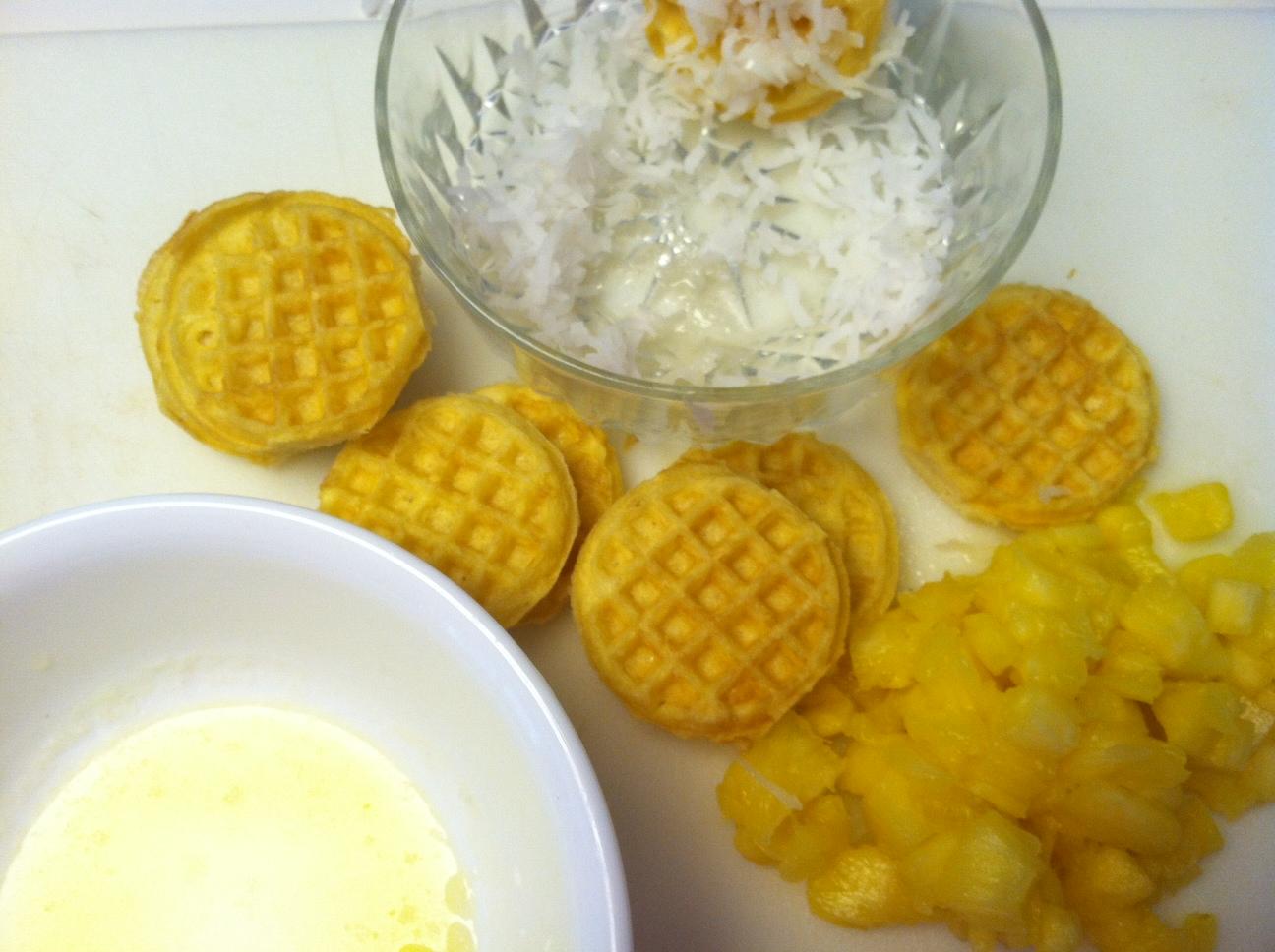 photo+4 Pina Colada Waffle Cookie