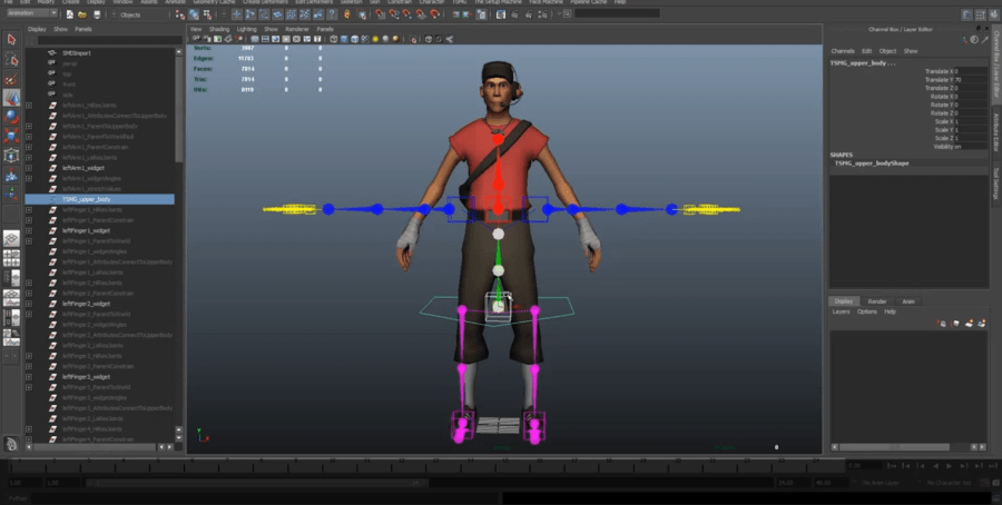 The Setup Machine for Games     Anzovin Studio Generate a flexible  modern character rig in minutes that will output to  any game engine that supports FBX  TSMG can save you days or weeks of work