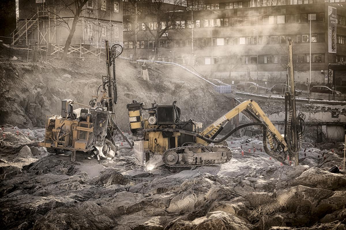 Demolition Area