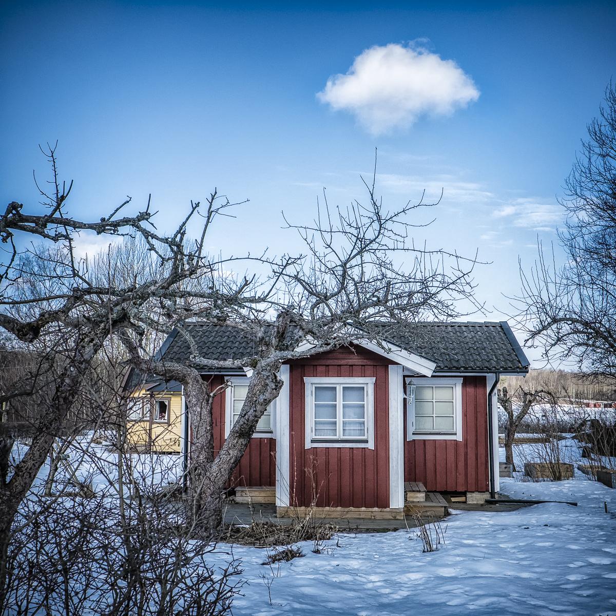 Tha cottage under a cloud