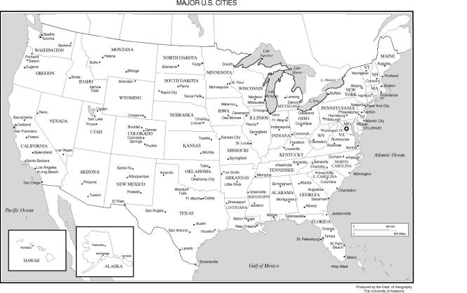 Important Cities Of Usa Best Import - Us major airports map