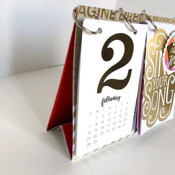 Craft DIY 2016 Desk Calendar Me Amp My BIG Ideas