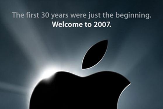 Η πρόσκληση για το πρώτο iPhone, MACWORLD 2007