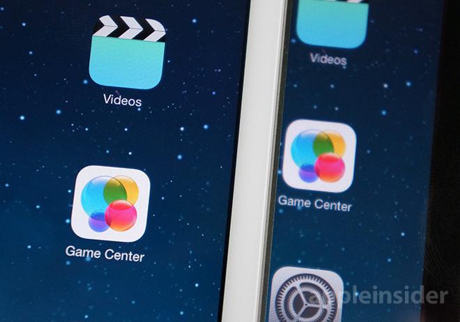 Αριστερά η Retina σε σύγκριση με την οθόνη του πρώτου iPad mini