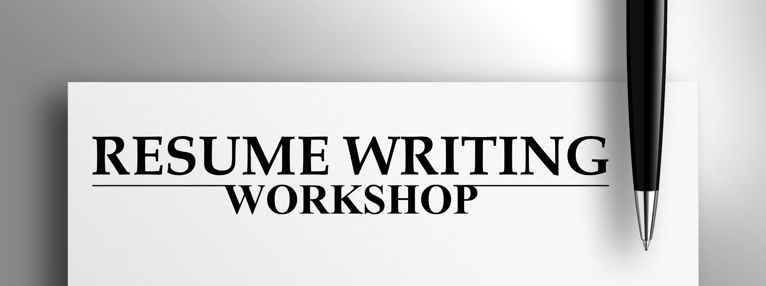resume writing workshop alliance center for independence