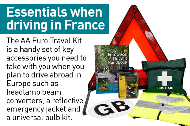 Aa European Travel Kit Halfords Anexa Creancy