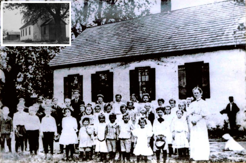 Historical photos of Forwood School from the State Board of Education Photograph Collection
