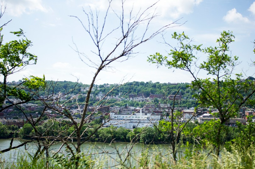 This is the Monongahela River, which Henry floated his detectives secretly to the mill on.