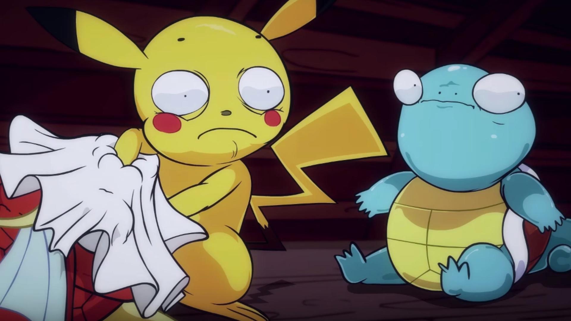 Hilariously Disturbing Pokemon Go Animated Short